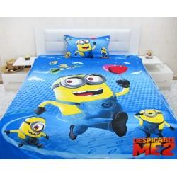 Юношеско спално бельо от 100% памук с олекотена завивка- Миньон от StyleZone