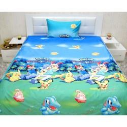 Юношеско спално бельо от 100% памук - Покемон от StyleZone