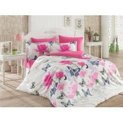 Спално бельо от 100% памук с олекотена завивка - МОРЕНО от StyleZone