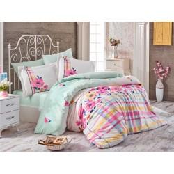 Луксозно спално бельо от 100% памук поплин - NORMA PINK от StyleZone
