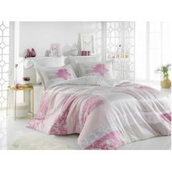 Луксозно спално бельо от 100%  сатениран памук- Elsa Rose от StyleZone