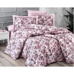 Спално бельо делукс сатен - AGORA PUDRA от StyleZone
