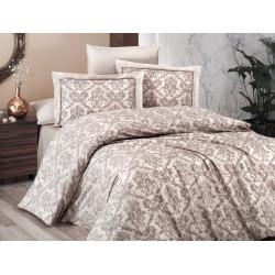 Спално бельо делукс сатен - CATRA EKRU от StyleZone