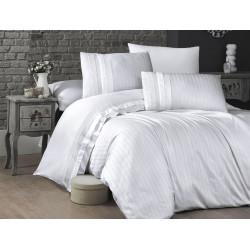 Спално бельо делукс сатен - NEW TREND BEYAZ от StyleZone