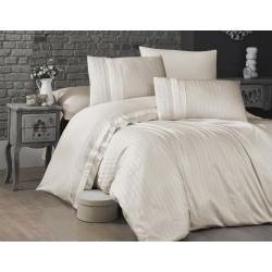 Спално бельо делукс сатен - NEW TREND KREM от StyleZone