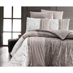 Лимитирана колекция спално бельо от 100% памук - PEITRA KAHVE от StyleZone