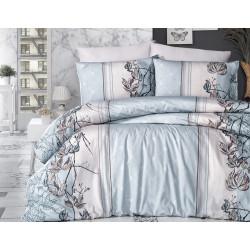 Лимитирана колекция спално бельо от 100% памук - ARNICA MINT от StyleZone