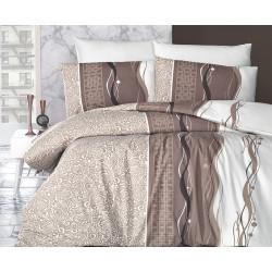 Лимитирана колекция спално бельо от 100% памук - NERON KAHVE от StyleZone