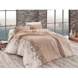 Лимитирана колекция спално бельо от 100% памук - LARA KAHVE от StyleZone