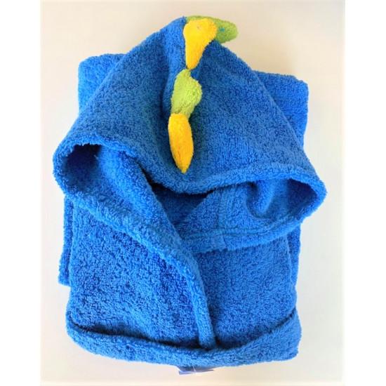 Детски халат за баня 100% Микропамук - ДИНО от StyleZone