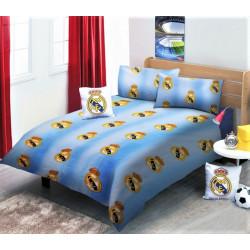 Юношеско спално бельо от 100% памук - Реал Мадрид от StyleZone