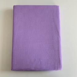 Покривало за легло (тънко шалте) от 100% памук - СВЕТЛОЛИЛВО ЛИ от StyleZone