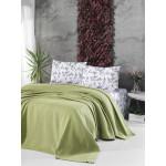 Памучно покривало за легло 3 в 1- ЛАЙМ от StyleZone