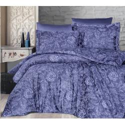 Луксозно спално бельо от 100% сатениран памук - ADVINA INDIGO от StyleZone