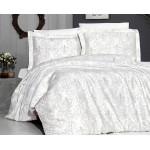 Луксозно спално бельо от 100% сатениран памук - DELMOR KREM от StyleZone