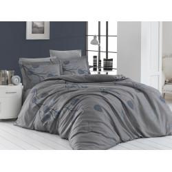 Луксозно спално бельо от 100% сатениран памук - EVIDA GRI от StyleZone
