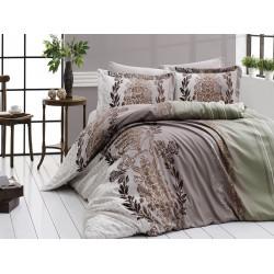 Луксозно спално бельо от 100% сатениран памук - FARAH YESIL от StyleZone