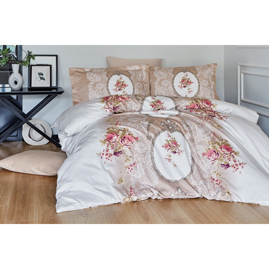 Луксозно спално бельо от 100% сатениран памук - POEMA VIZON от StyleZone