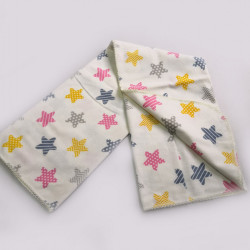 Бебешка бархетна пелена - ЗВЕЗДИЧКИ от StyleZone