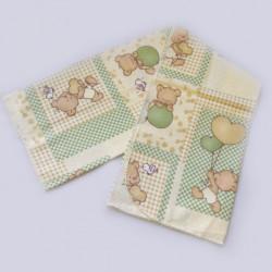 Бебешка бархетна пелена - МЕЧЕТА от StyleZone