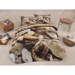 3D Спално бельо Памучен сатен - Корабокрушенец от StyleZone