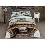 3D Спално бельо Памучен сатен - Айфеловата Кула от StyleZone