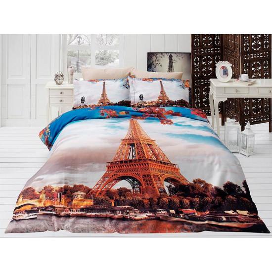 3D Спално бельо Памучен сатен - ПАРИЖ от StyleZone