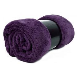 Едноцветно одеяло - ТЪМНОЛИЛАВО от StyleZone
