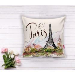 Арт деко калъфка за възглавница - ПАРИЖ от StyleZone