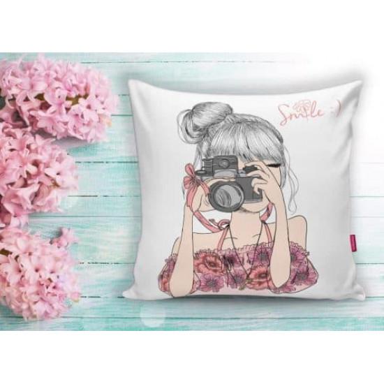 Арт деко калъфка за възглавница - ЩРАК от StyleZone
