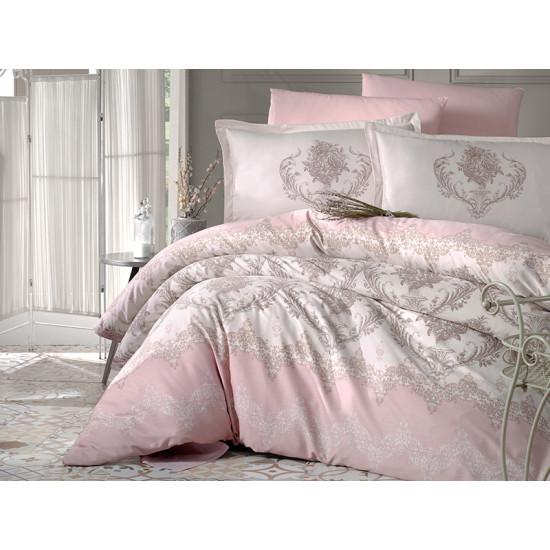 Стилно спално бельо от 100% сатениран памук - ADRA V2 от StyleZone