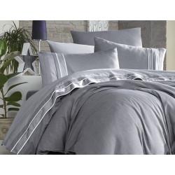 Вип спално бельо от висококачествен сатен - IMAJ GRI от StyleZone