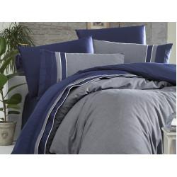 Вип спално бельо от висококачествен сатен - IMAJ LACIVERT от StyleZone