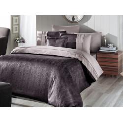 Вип спално бельо от висококачествен сатен - LONDON KAHVE от StyleZone