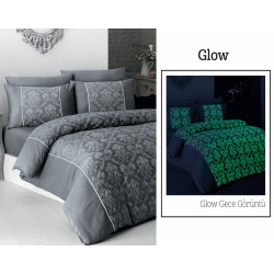 Вип спално бельо от висококачествен сатен - GLOW от StyleZone