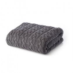 Памучно одеяло Tirol Cotton Gray - White Boutique от StyleZone