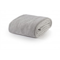 Памучно одеяло Marbella Cotton Light Gray - White Boutique от StyleZone