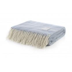 Вълнено одеяло Winterberry Blue - White Boutique от StyleZone