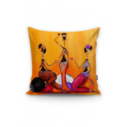 Арт деко калъфка за възглавница - ЖЕНИ от StyleZone