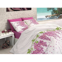 Лимитирана колекция спално бельо от 100% памук - PINK FLOWERS от StyleZone