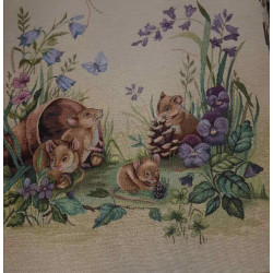 Испанска декоративна калъфка за възглавница с цип - МИШЛЕТА от StyleZone