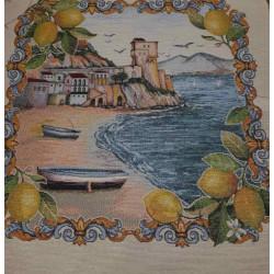 Испанска декоративна калъфка за възглавница с цип - МОРЕ от StyleZone