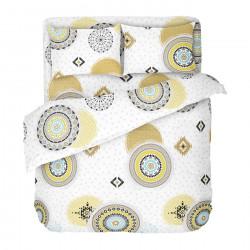 Българско цветно спално бельо от 100% памук - КОЗМО от StyleZone