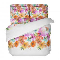 Българско цветно спално бельо от 100% памук - СЪМЪР от StyleZone
