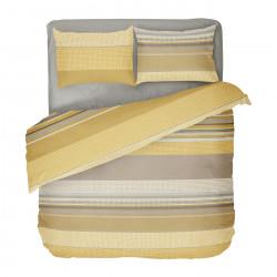 Българско цветно спално бельо от 100% памук - ГОРЧИЦА от StyleZone