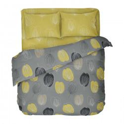 Българско цветно спално бельо от 100% памук - ГРЕЙС от StyleZone