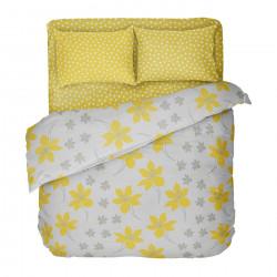 Българско цветно спално бельо от 100% памук - КРЕСИДА 2 от StyleZone