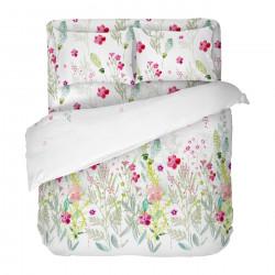 Българско цветно спално бельо от 100% памук - САБРИНА от StyleZone