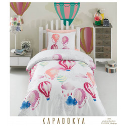 Юношеско спално бельо делукс от 100% памук  -  KAPADOKIA от StyleZone