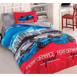 Юношеско спално бельо делукс от 100% памук  - TOKYO DRIFT от StyleZone